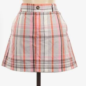 Old navy plaid casual skirt
